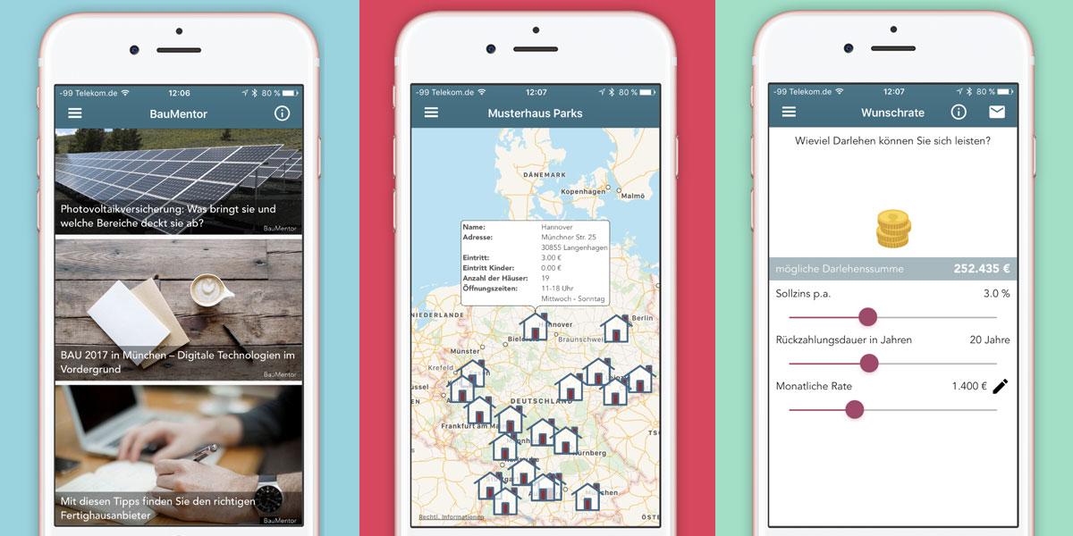 Die BauMentor-App ist da!!! Alle Infos zum Hausbau bequem aufs Smartphone oder Tablet