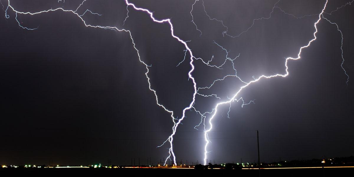 Schutz vor Gewitter: Geben Sie Blitzeinschlägen keine Chance